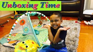 BRIGHT STARTS 5 IN 1 ACTIVITY GYM *UNBOXING & ASSEMBLY*