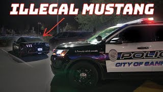 WHIPPLED GT Pulled Over by the BEST COP EVER!