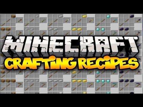 Minecraft: CRAFTING RECIPES! (CraftGuide) | Mod Showcase