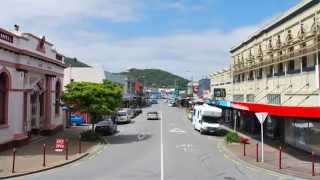 preview picture of video 'Greymouth, New Zealand'