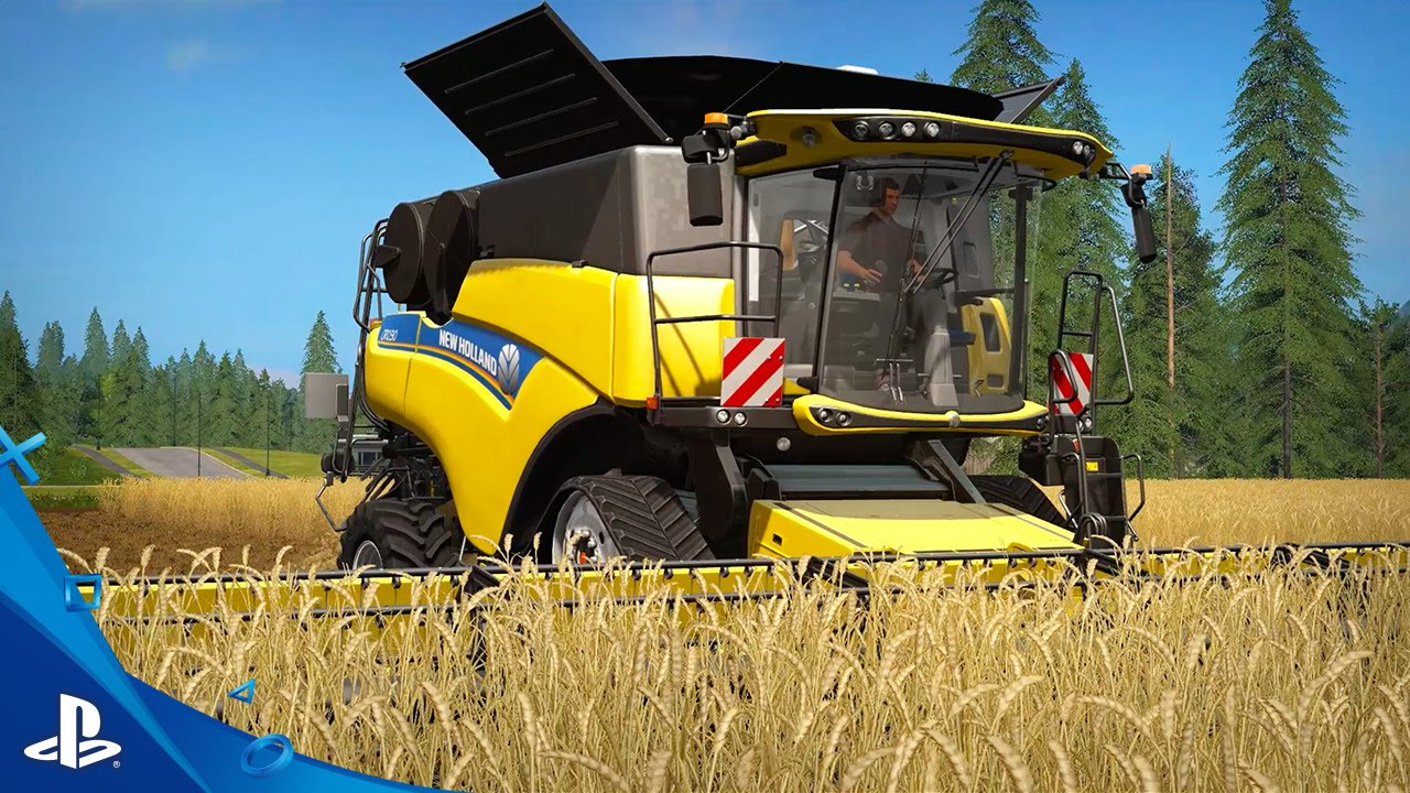 Farming Simulator 17 Out October 25, Features Trains and Pigs