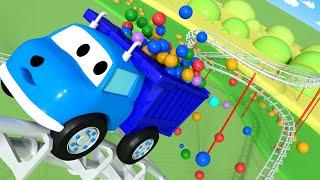 Renkleri ve Sayıları Öğren - Ethan Lunapark Hız Trenine Biniyor - Ethan dökümü ile öğrenin Kamyon 🚚