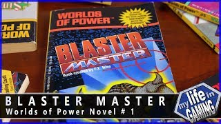 Worlds of Power #1 Blaster Master :: Book Showcase (w/8-bit Duke)