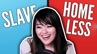 BE HOMELESS OR A SL4VE? | Would You Rather #5