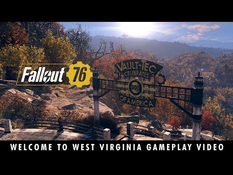 Fallout 76 – Welcome to West Virginia Gameplay Video de Fallout 76