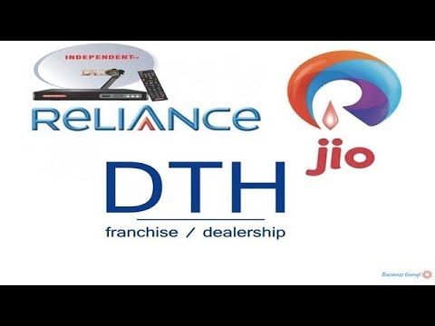 JIO DTH CONNECTION ,Reliance Big TV (Independent TV)  Franchise Or Distributorship