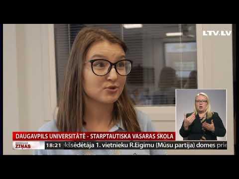 VIDEO: 15 dalībnieki no 8 pasaules valstīm Latgalē apgūst latviešu valodu