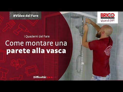 I QUADERNI DEL FARE - Come montare una parete alla vasca