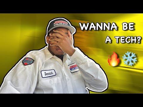 So you want to be a HVAC technician? | 10 things you should know before you decide 🔥❄️