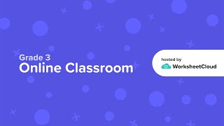 Grade 3 - English - Reading Comprehension / WorksheetCloud Video Lesson