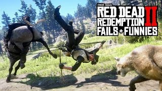 Red Dead Redemption 2 - Fails & Funnies #111