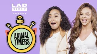 Little Mixs Jesy And Leigh-Anne Cant Stop Screaming   Animal Timers