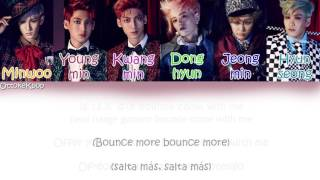 BOYFRIEND - BOUNCE - Color Coded Lyrics {Han-Rom-Eng-Esp}