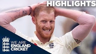 Kohli Hits Brilliant 97 As Stokes Returns | England v India 3rd Test Day 1 2018 - Highlights