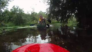 preview picture of video 'Paddling at Felmersham'