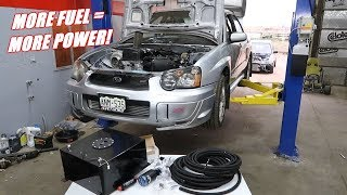Upgrading Hondaru's Fuel System! (part 1)