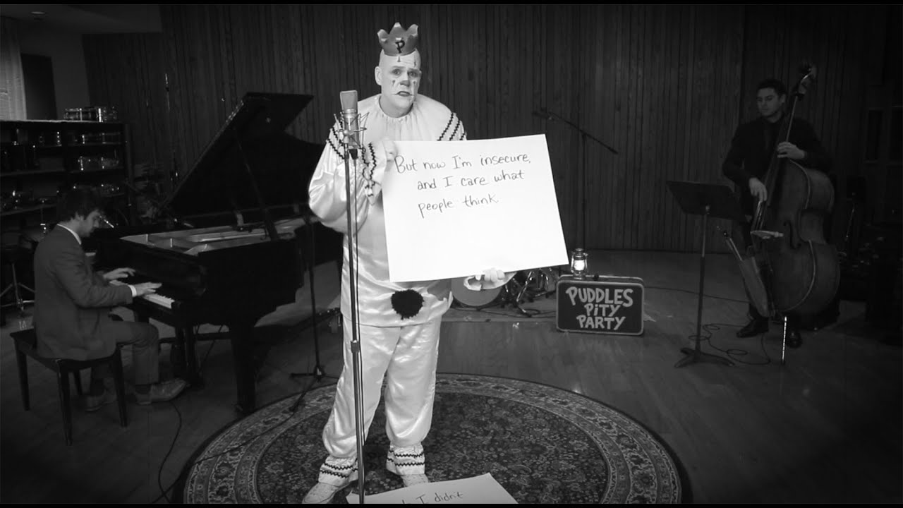 Stressed Out – Sad Clown Style Twenty One Pilots Cover ft. Puddles Pity Party