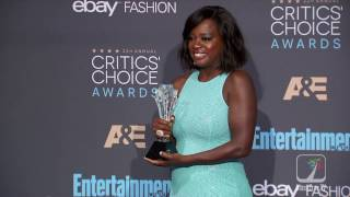 Viola Davis Reflects On Winning Best Supporting Actress At 2016 Critics Choice Awards
