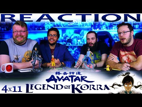 Legend of Korra 4x11 REACTION!!