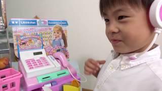 リカちゃんコンビニおさつスイッとレジスターお買い物ごっこお店屋さんごっこおもちゃこうくんねみちゃんLiccaregisterToy
