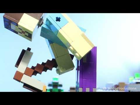 Конструктор BELA Minecraft «Скелет с кубом магмы» 11168 (Аналог LEGO 21150), 142 детали