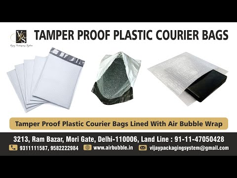 Courier Bag - Self Adhesive Temper Proof  With Air Bubble