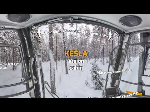 KESLA Vision cabin 360 degrees from inside ENG