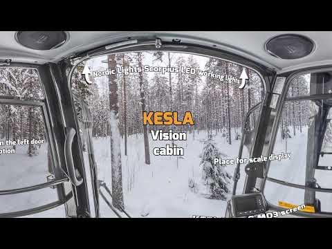 KESLA Vision cabin 360 degrees from inside ENG