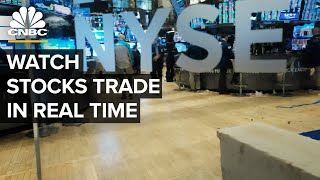 Watch stocks trade in real time — 10/28/2020