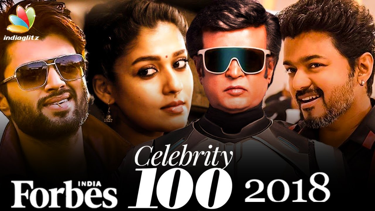 Highest Earning Kollywood Celebrities of 2018 | Forbes 100 | Hot News