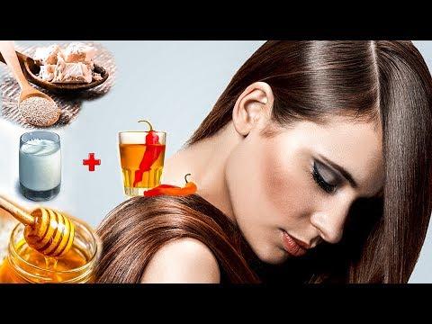 Как укрепить и сделать толще ваши волосы в домашних условиях !