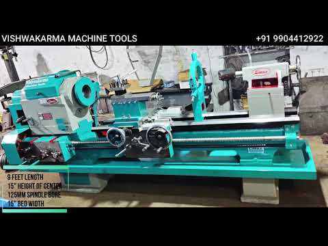 Limax Double Shaft Heavy Duty Lathe Machine