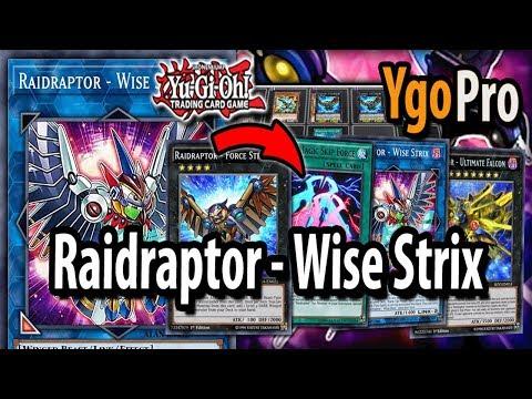 YGOPRO】RAIDRAPTOR WISE STRIX LOCKDOWN DECK 2018 - игровое