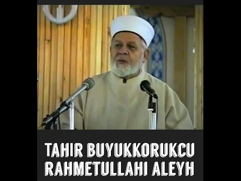 Helak olan din düşmanı Ankaralı profesör - Tahir Büyükkörükçü Rahmetullahi Aleyh