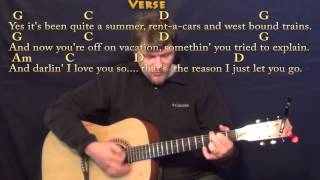 Come Monday (Jimmy Buffett) Strum Guitar Cover Lesson in G with Chords/Lyrics