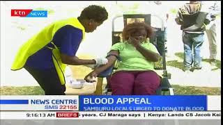 Samburu residents urged to donate blood