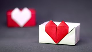 How To Make A Heart Box - Paper Crafts