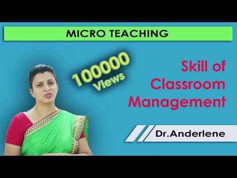 Skill of Classroom Management - Micro teaching - teacher training - B.ed training - Spoken English