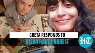 Greta Thunberg backs jailed activist Disha Ravi, tweets on 'human rights' - Download this Video in MP3, M4A, WEBM, MP4, 3GP