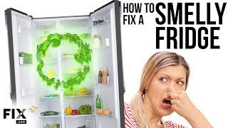My Refrigerator Stinks! | How to FIX a Smelly Fridge | FIX.com