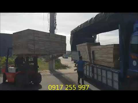 Xuất xưởng phôi gỗ sấy ép