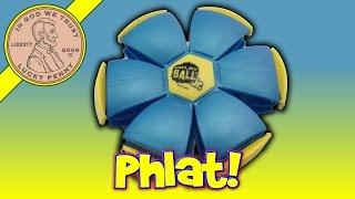 Phlat Ball Jr The Original Transforming Disc-Ball, Phunky Monkey, Phun Tag, Phlat Potato
