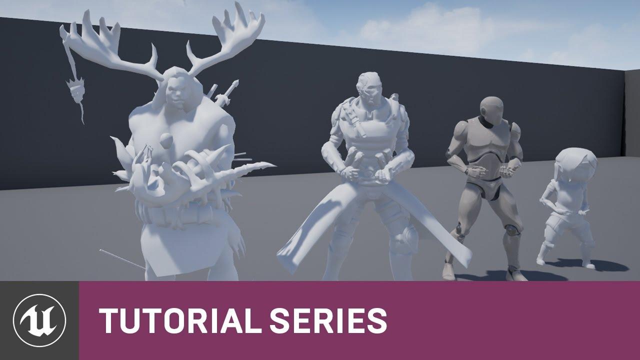 Skeleton Assets: Anim Retargeting  Different Skeletons | 03 | v4.8 Tutorial Series | Unreal Engine