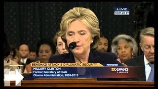 Secretary Clinton's opening statement at the House Committee on Benghazi | Hillary Clinton