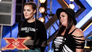 Gambar cover Mother-daughter duo Descendance cover Macklemore   Auditions Week 3   The X Factor 2017