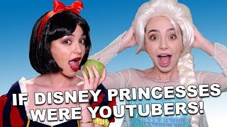 If Disney Princesses Were YouTubers - Merrell Twins