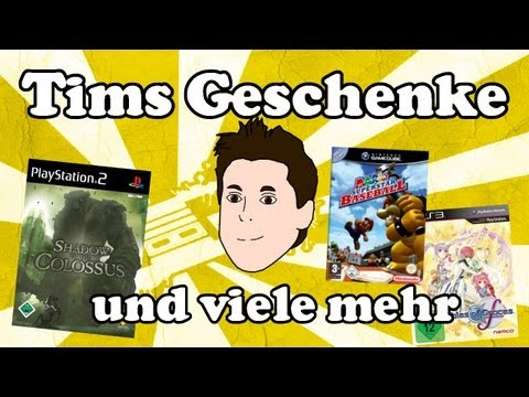 Tims Geschenke: Sehr viele, Tales of Graces F, Shadow of the Colossus, Mario Baseball