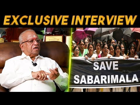 Why Women Are Banned To Enter #Sabarimala? Exclusive Interview With Justice Vallinayagam