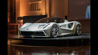 YouTube Video xyDyfTuNtAE for Product Lotus Evija Electric Sports Car by Company Lotus Cars in Industry Cars