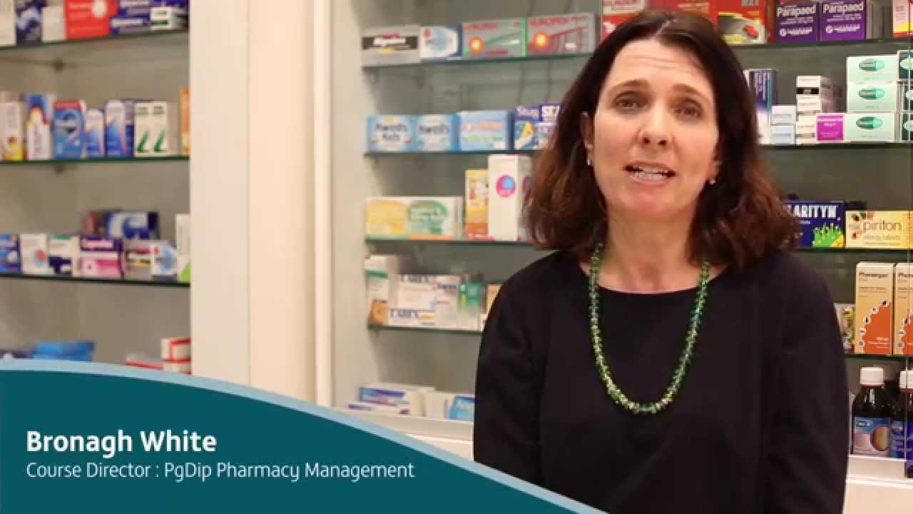 Course Director Profile: Bronagh White - PgDip Pharmacy Management